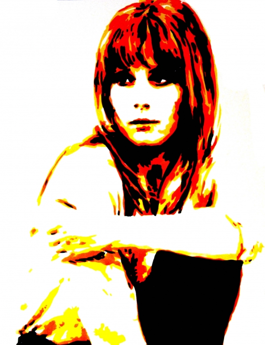 Françoise Dorléac por Bibourich